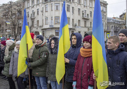 На Харьковщине отпраздновали День Соборности Украины (ФОТО, ВИДЕО)