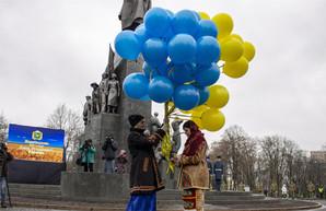 На Харьковщине празднуют День Соборности Украины (ФОТО, ВИДЕО)