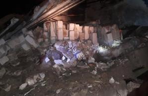 Под Харьковом обвалилось здание: есть жертвы