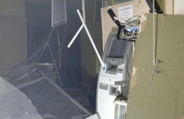 В Харькове в жилом доме взорвали банкомат (ФОТО)