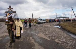 На Харьковщине простились с бойцом, погибшим во время ООС