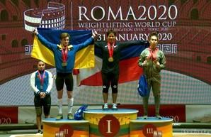 Харьковские тяжелоатлеты завоевали «золото» и «серебро» в Риме