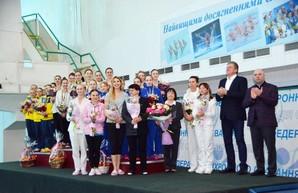 Харьковские синхронистки были вне конкуренции на домашнем чемпионате Украины