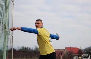 Харьковчанин стал чемпионом Украины в метании диска