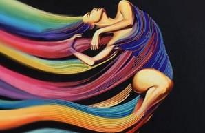 «Бузок» презентует выставку вышитых картин «Мелодия цвета»