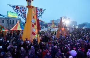 На площади Свободы до марта ограничивают движение