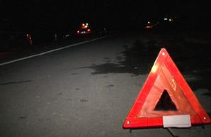 На Холодной Горе пьяный водитель протаранил столб (ФОТО)
