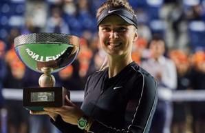 Элина Свитолина выиграла трофей WTA в Мексике