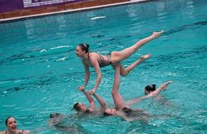 Харьковские синхронистки завоевали семь золотых наград на чемпионате мира в Париже