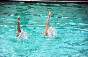 Юные харьковские синхронисты завоевали 10 золотых наград чемпионата Украины
