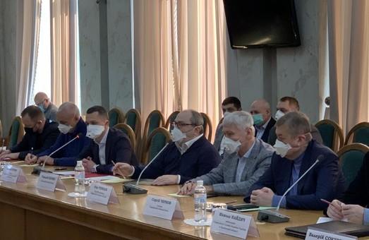 На Харьковщине для борьбы с COVID-19 объединились органы власти, местное самоуправление, нардепы и бизнес – ХОГА