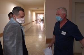 Кучер проверил готовность военного госпиталя принимать больных COVID-19
