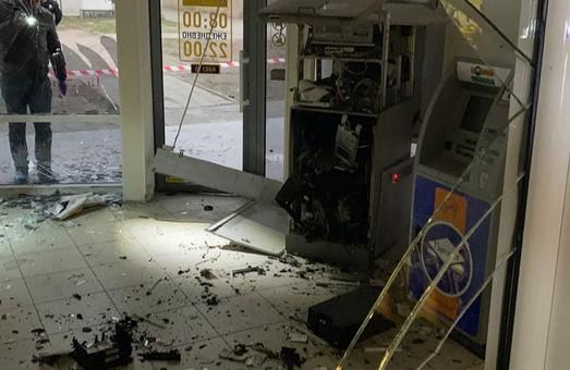 В Харькове взорвали банкомат: преступники задержаны (ФОТО, ВИДЕО)