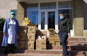 Областным инфекционным больницам передали дезинфицирующие средства