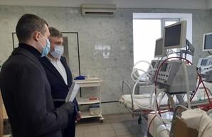 Харьковская область получила 11 аппаратов ИВЛ