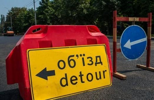 Часть Московского проспекта будет закрыта еще две недели