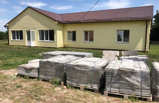 Под Харьковом заканчивают строительство новой амбулатории