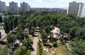 Реконструкция сквера на Холодной Горе: у Кернеса переплатят за тротуарную плитку, урны и деревья – ХАЦ