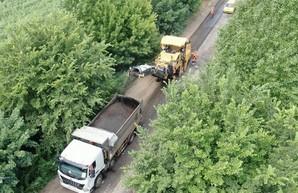 Старт ремонтных работ на дороге Мерефа-Змиев: планируют обновить более 15 километров (ВИДЕО)