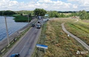 На Харьковщине приступили к ремонту дороги Чугуев – Печенеги – Великий Бурлук (ФОТО)