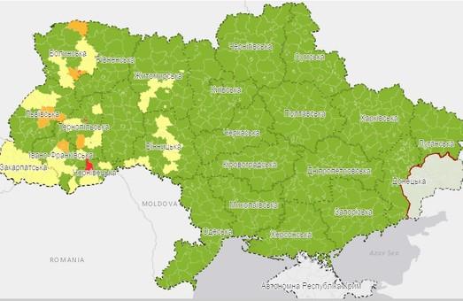 Харьковская область - в «зеленой» зоне карантина