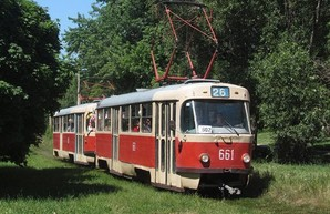 На Салтовке трамваи на два дня изменят маршрут