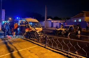 В Харькове – ДТП с автомобилем скорой помощи (ФОТО, ВИДЕО)