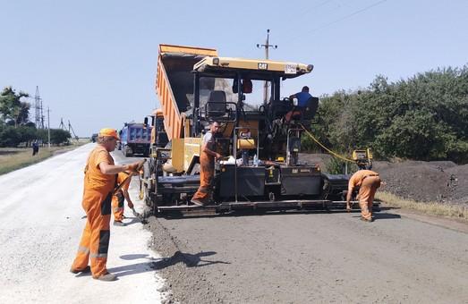 Как продвигается ремонт трассы Харьков - Змиев - Балаклея - Гороховатка (ФОТО)