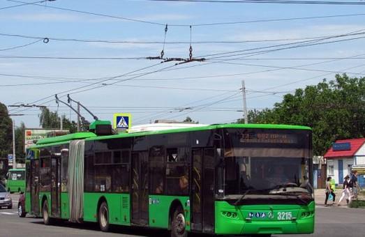 Из-за ремонта дороги на Салтовке троллейбусы изменят маршруты