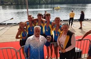 Харьковских гребцов - победителей чемпионата Европы признали лучшими спортсменами месяца