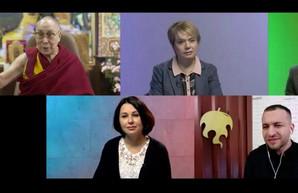 Харьковчане организовали прямой эфир с Далай-ламой для всех украинцев