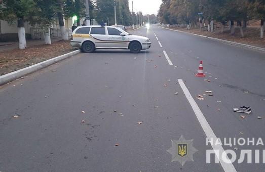 На Харьковщине пешеход погиб под колесами автомобиля: водитель сбежал с места ДТП