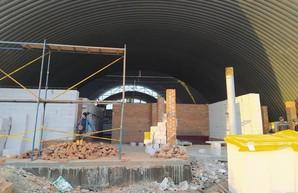 Под Харьковом завершается строительство физкультурно-оздоровительного комплекса