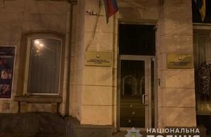 В Харькове обстреляли Почетное Консульство Азербайджана (ФОТО)