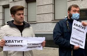 ДТП в центре Харькова: сотрудников спецслужб обвиняют в бездействии