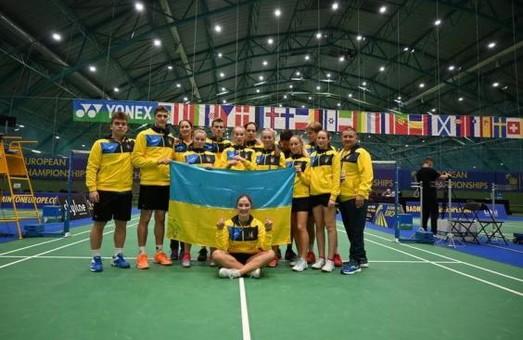 Харьковские бадминтонистки - бронзовые призеры чемпионата Европы