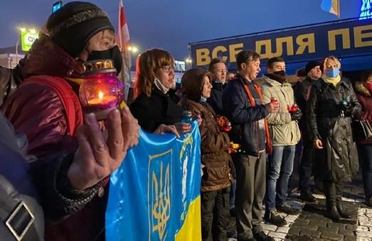 В Харькове почтили память жертв голодоморов