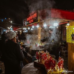 Предновогодняя атмосфера в Харькове