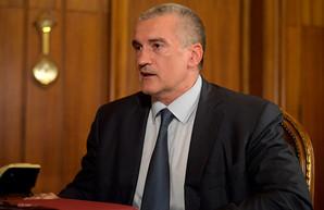 «Глава» оккупированного Крыма выразил надежду, что Москва поможет полуострову с водой