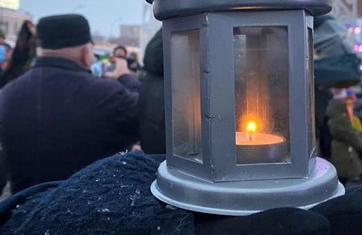 Вертеп-фест в Харькове: пластуны передали Вифлеемский огонь