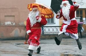 Новый год придется праздновать под дождем