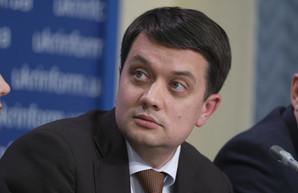 Разумков утверждает, что у него с Зеленским нет конфликта