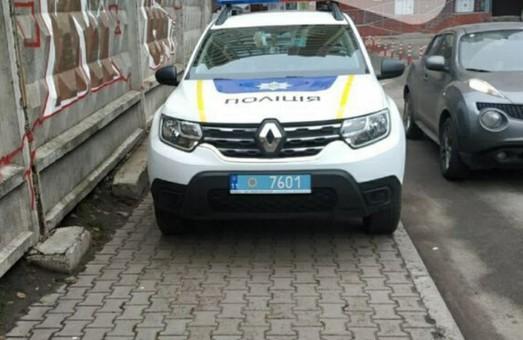 Киевлян возмутил поступок полиции (Фото)