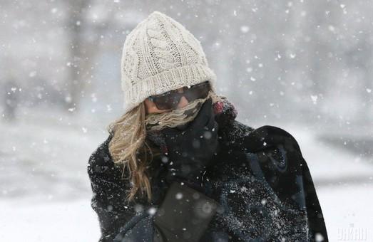 На Украину надвигаются снег и морозы