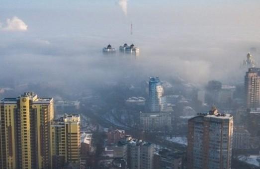 Загрязнение воздуха в Киеве в 2-7 раза превышает норму