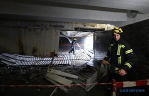 В подземном переходе на Майдане упал потолок