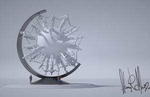 Одесский скульптор создаст невероятный памятник коронавирусу. ФОТО