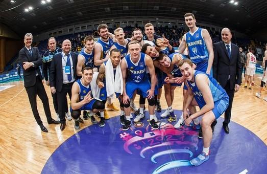 Сборная Украины вышла на Евробаскет-2022