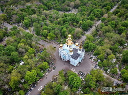 В Одессе показали с высоты старейшее кладбище, на котором покоятся полмиллиона человек