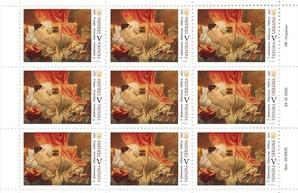 Укрпочта впервые в истории выпустит набор марок в стиле ню